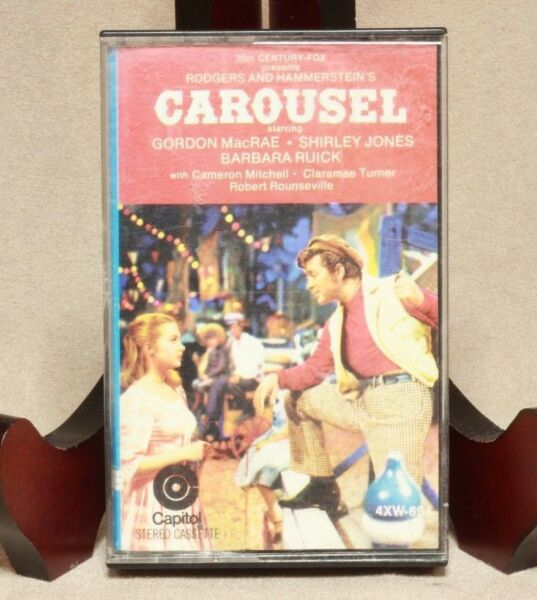 Carousel Rodgers and Hammerstein's Soundtrack Audio Cassette tape