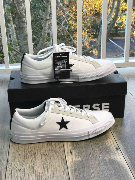 Sneakers Men's Converse One Star Canvas Low Top White Black