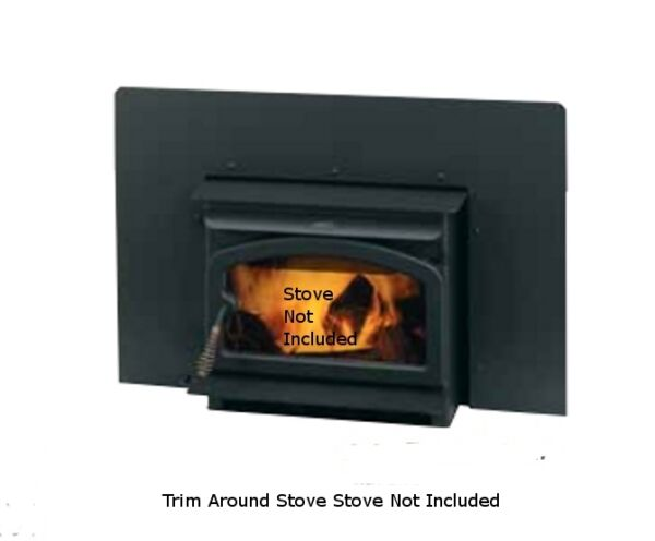 Lennox Country Wood Stove Insert Black Side amp; Top Flanges 1 71038 2 71032 *** $250.00