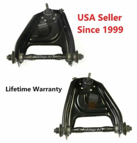 New Pair Dorman 520-181 520-182 Front Upper Left & Right Control Arms Chevy GMC