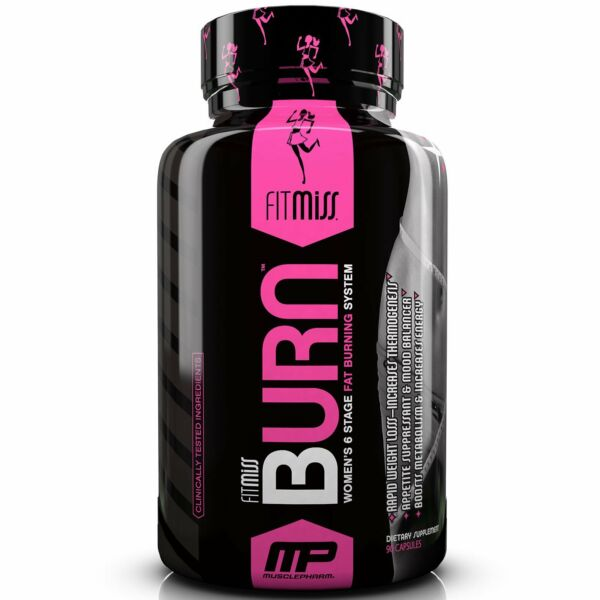 FitMiss  Burn  Women s 6 Stage Fat Burning System  90 Capsules