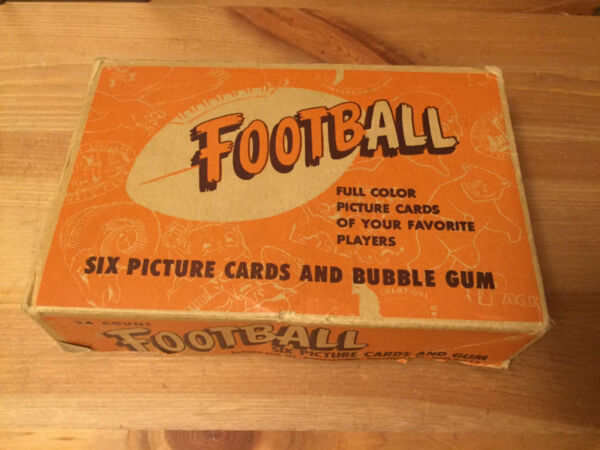 1951 Bowman Football Complete Display Box Rare! 100% original Authentic (5 cent)