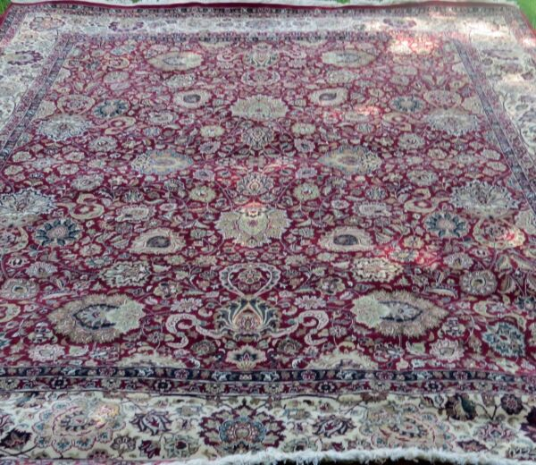 Persian Style Rug One of a Kind MultiColor  Handmade  Size 116