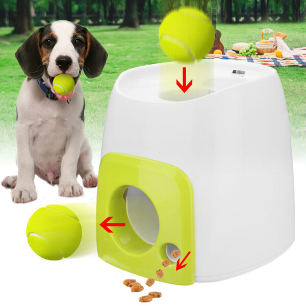 Woopet Pet Dog Toy Automatic Interactive Tennis Ball Launcher