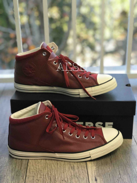 Sneakers Men's Converse Chuck Taylor All Star Hight Street Hight Top Terra Red
