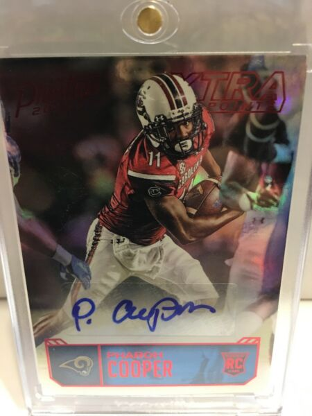 2016 Prestige #PC Pharoh Cooper RC Autograph Extra Points Red
