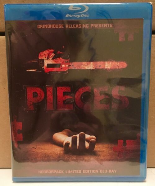 Pieces - HorrorPack Limited Edition Blu-ray #23 NEW SEALED