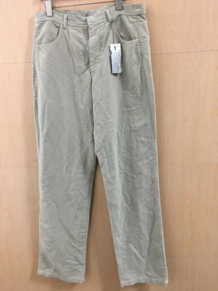 """Ice Jeans Iceberg Pants For Women's beige Size48 inseam34"""" bottoms9""""Italy $29.00"""