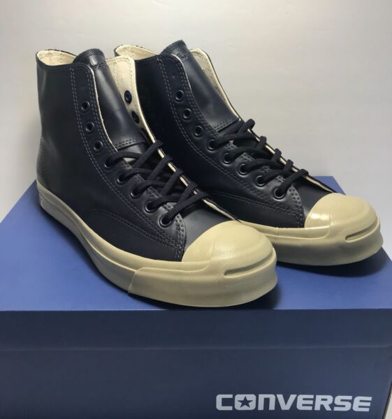 Converse Mens Size 9 Jack Purcell Signature Hi Rubber Counter Climate Shoes