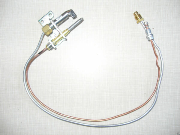 Natural Gas Fire Logs 15.5quot; Replacement Thermo Coupler amp; Gas Pilot Tube New 102 $17.99