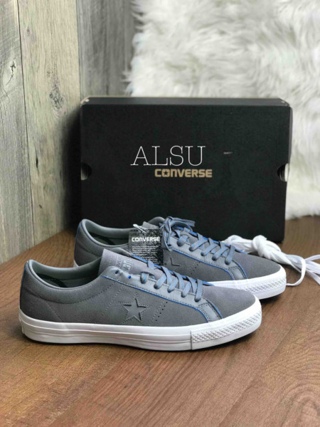 Sneakers Men's Converse One Star Pro Suede Charcoal Grey Low Top