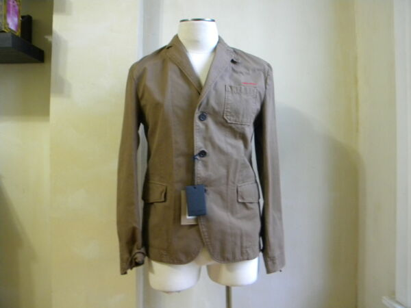 DSQUARED² COOL BROWN CASUAL SPORT JACKET BLAIZER S 50 M MADE IN ITALY $699.99