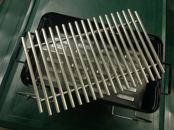 Go Anywhere Grill (WGA) Heat plate and Heavy duty grate