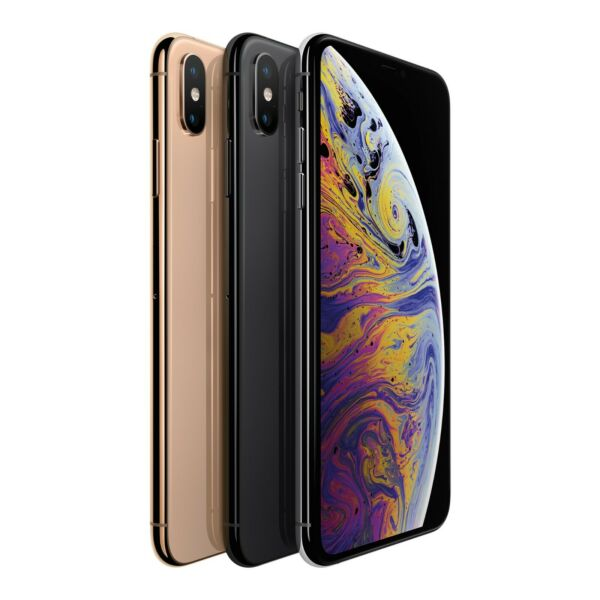 Apple iPhone XS Max 64GB 256GB - Sprint - New - Space Gray, Silver, Gold