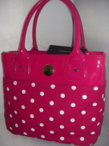 NEW TOMMY WOMEN#x27;S HAND BAG SM OS TU PINK COLOR $52.95