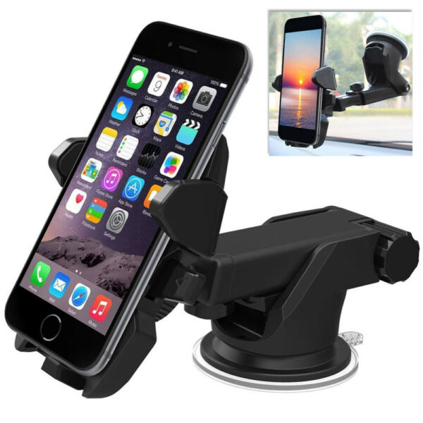 Universal Car 360° Windshield Mount Holder for Cell Phone GPS iPhone 11 Samsung