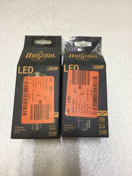 Feit Electric 40W Equivalent Soft White ST19 Dimmable LED Antique Edison M Type $20.00
