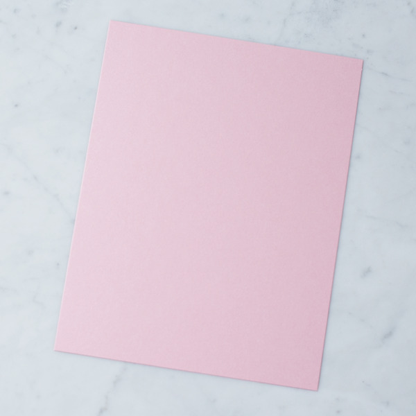 50 Sheets Stardream Metallic 8.5X11 Card Stock Paper ROSE QUARTZ 105lb Cover