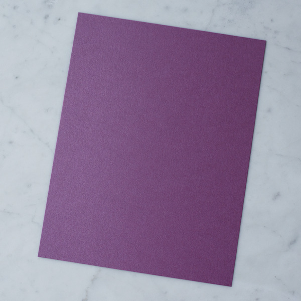 50 sheets Stardream Metallic 8.5X11 Card Stock Paper PUNCH 105lb Cover