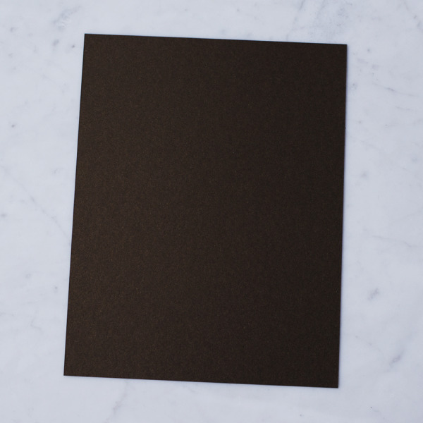 50 sheets Stardream Metallic 8.5X11 Card Stock Paper BRONZE 105lb Cover