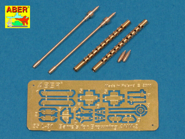 135 L81 ABER BARRELS for US cal.50 AIRCRAFT HEAVY MG BROWNING ANM2 - PROMOTE