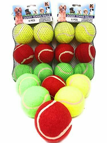 BK Interactive Dog Tennis Balls for Training - Exercise - Games and Fetch