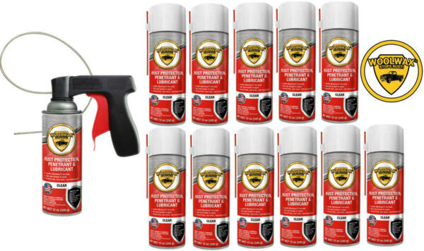Woolwax® Spray Can Undercoating Kit. 12 cans