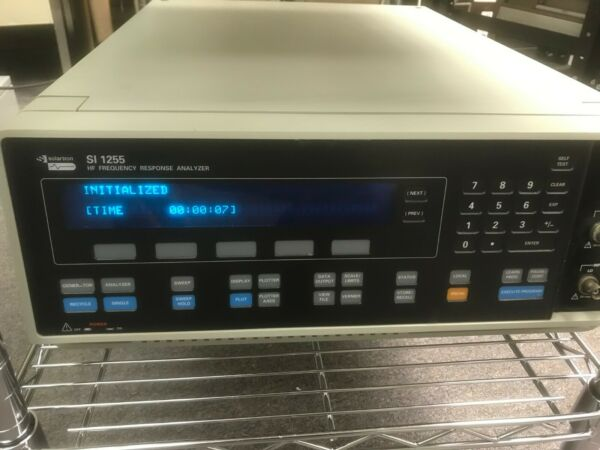 Solartron 1255A HF Frequency Response Analyzer 10 uHz to 20 MHz