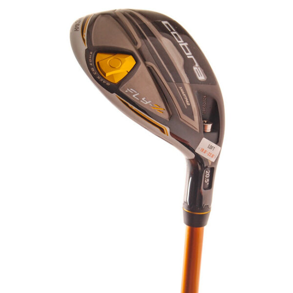 New Cobra Fly-Z White Hybrid #34 Aldila NVS 85 R-Flex Graphite RH