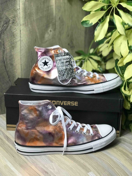 Sneakers Men's Converse Chuck Taylor All Star High Top Dusk Pink Canvas
