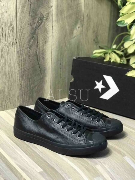 Sneakers Men's Converse Jack Purcell Jack Leather Black Low Top