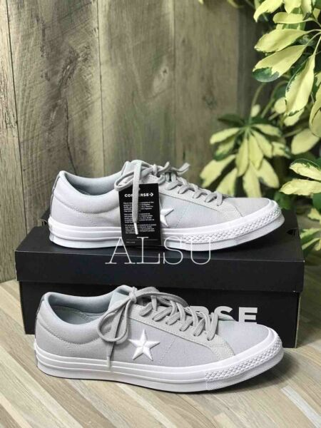 Sneakers Men's Converse One Star ASH Low Top Canvas Grey