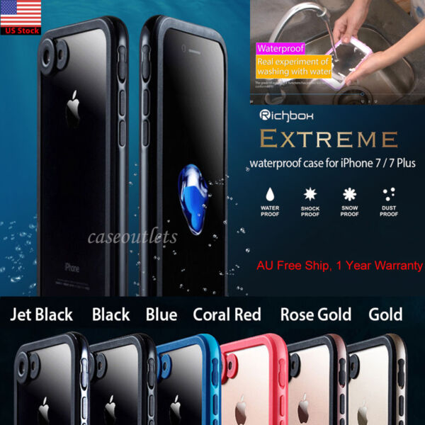 Genuine Richbox Dust Snow Shock Waterproof Cover For iPhone 8 76S Plus Case
