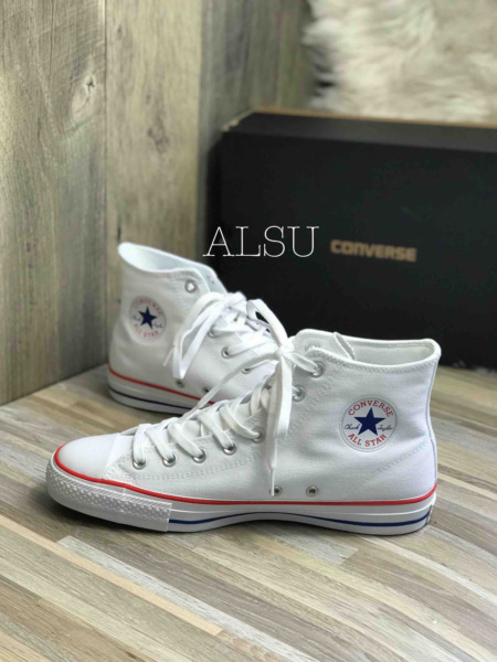Sneakers Men's Converse Chuck Taylor All Star Pro Canvas High Top White Red Blue