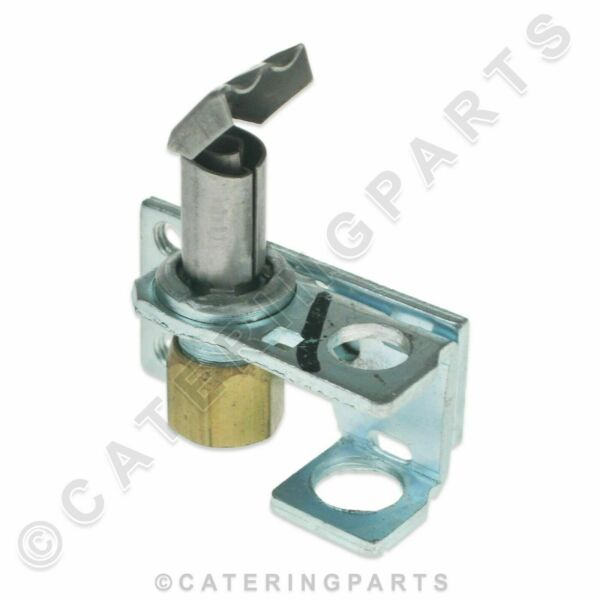 GAS OVEN PILOT ASSEMBLY SINGLE FLAME WITH NUT & OLIVE FOR ROBERTSHAW 14