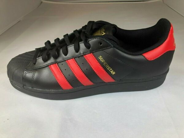 NEW MENS ADIDAS SUPERSTAR SNEAKERS S80694-SHOES-SIZE 8.5