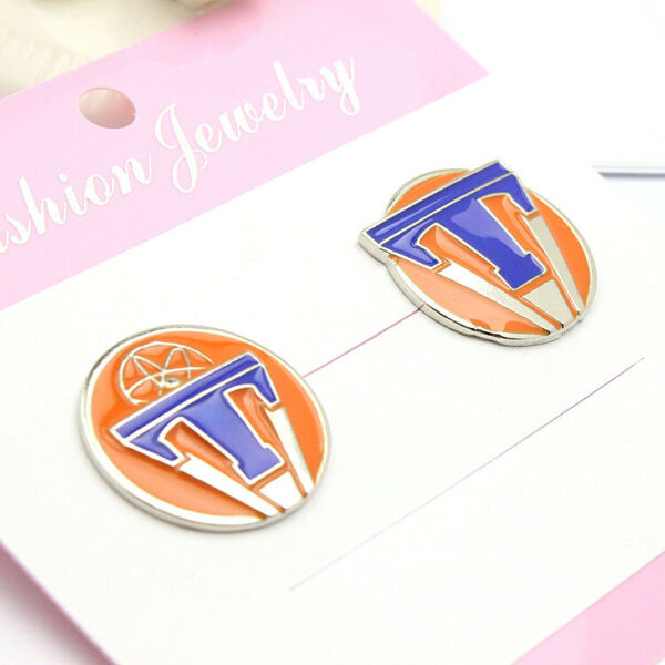 Movie Tomorrowland Maxi Metal Pins Badges Brooches Cosplay Prop 2pcsset