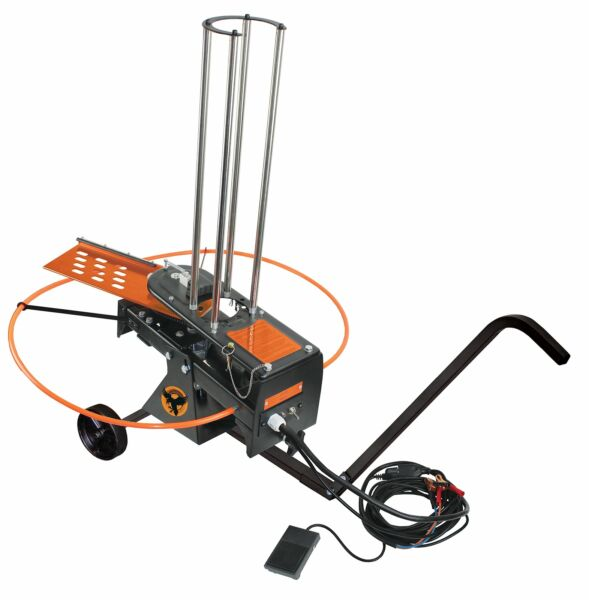 Do-All Outdoors Raven Automatic Clay Pigeon Skeet Thrower with Wheels 50 Cla...
