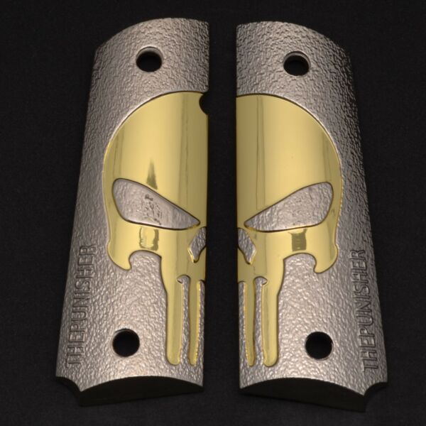Luxury For 1911 COLT GRIPS Full Size Gold Nickel Plated 1911 Colt Screws In $59.00
