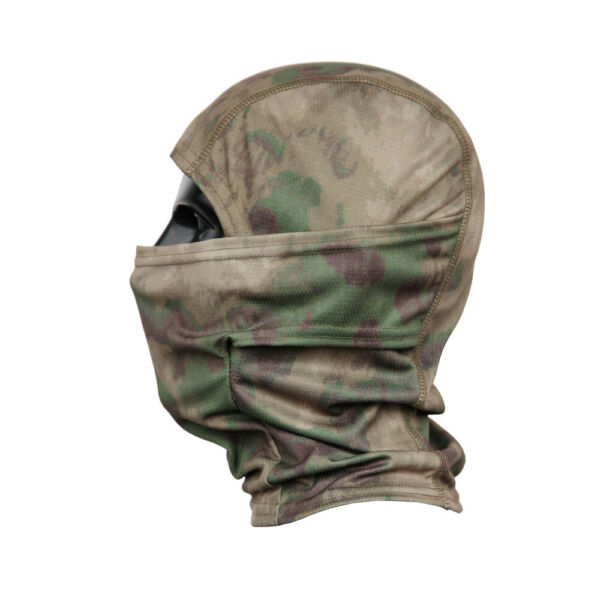Mottled Camo Outdoor Quick dry Balaclava Full Face Mask Sunscreen Windproof Sand