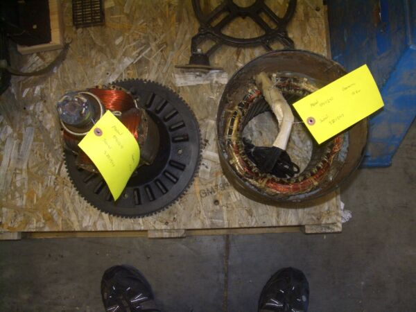 Generac Stator Rotor Generator End .From Generac 04112 0 10KW fits others. $495.00