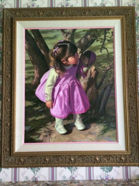 Bob Byerley Original Oil On Board