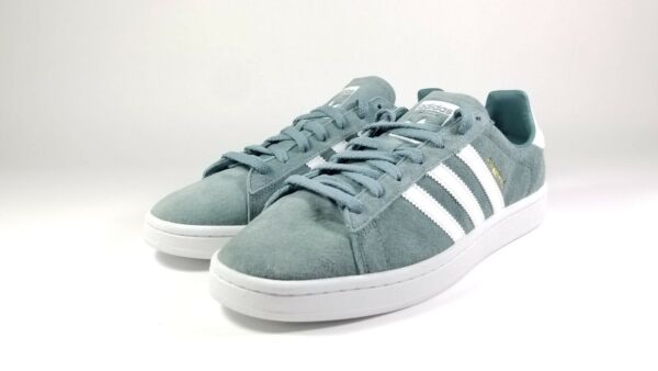 Adidas Originals Campus Green White Shoes Men's US Size 11 B37822