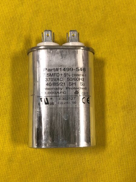 RV 7.5 mfd Fan Capacitor 1499 5461 1499 546 Coleman RV Air Conditioner OEM $28.75