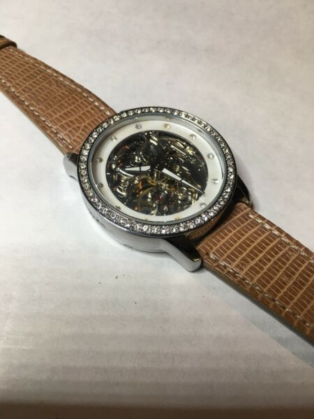 ANNE KLEIN Womens Automatic Watch(TY2804SV) 35mmLeather- EXCELLENT