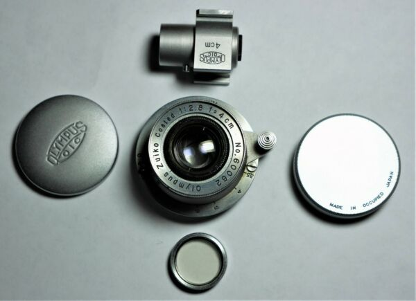 Olympus Zuiko Coated 2.84cm lens for Leica Screw Mount UNIQUE ONLY ONE EXIST