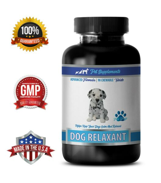 dog calming pills DOG RELAXANT AND ANXIETY RELIEF chamomile dog treats 1B $22.95