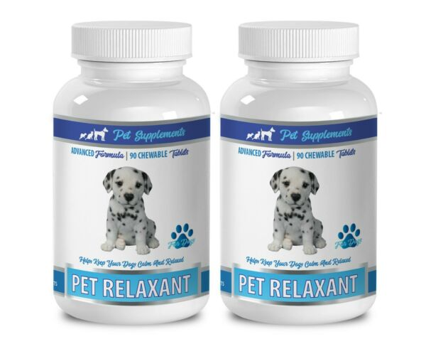 puppy relaxer DOG RELAXANT AND ANXIETY RELIEF dog calming chews 2B $43.95