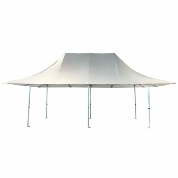 10x20' White Fly Canopy Tent Pop Up With 30
