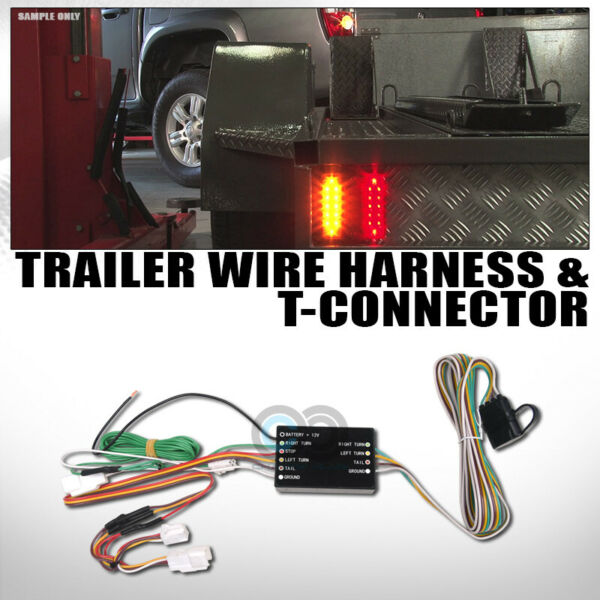 Fits 14 20 Outlander Trailer Tow Hitch 4 Way Output Custom Wiring T Connector $41.95